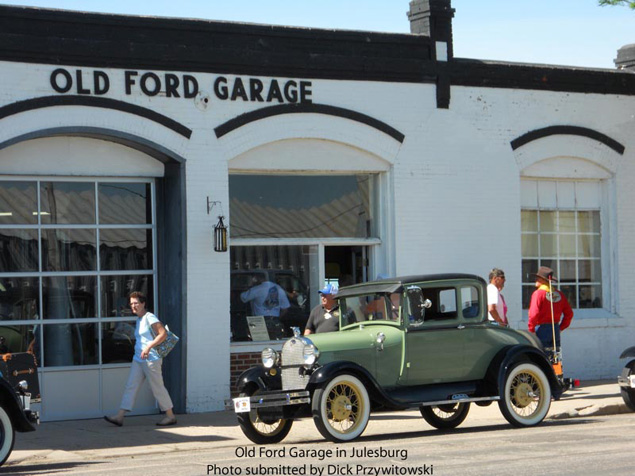 Dp old ford garage for Garage ford saint louis
