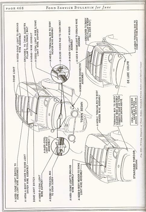 1930 Model A Ford Wiring Diagram from www.mafca.com