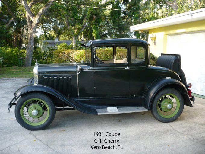 The coupe is a 1931 deluxe model and I live near MAFCA Director Jerry Wilhelm who has helped me get the old   ... & MAFCA - 1931 Vehicles markmcfarlin.com