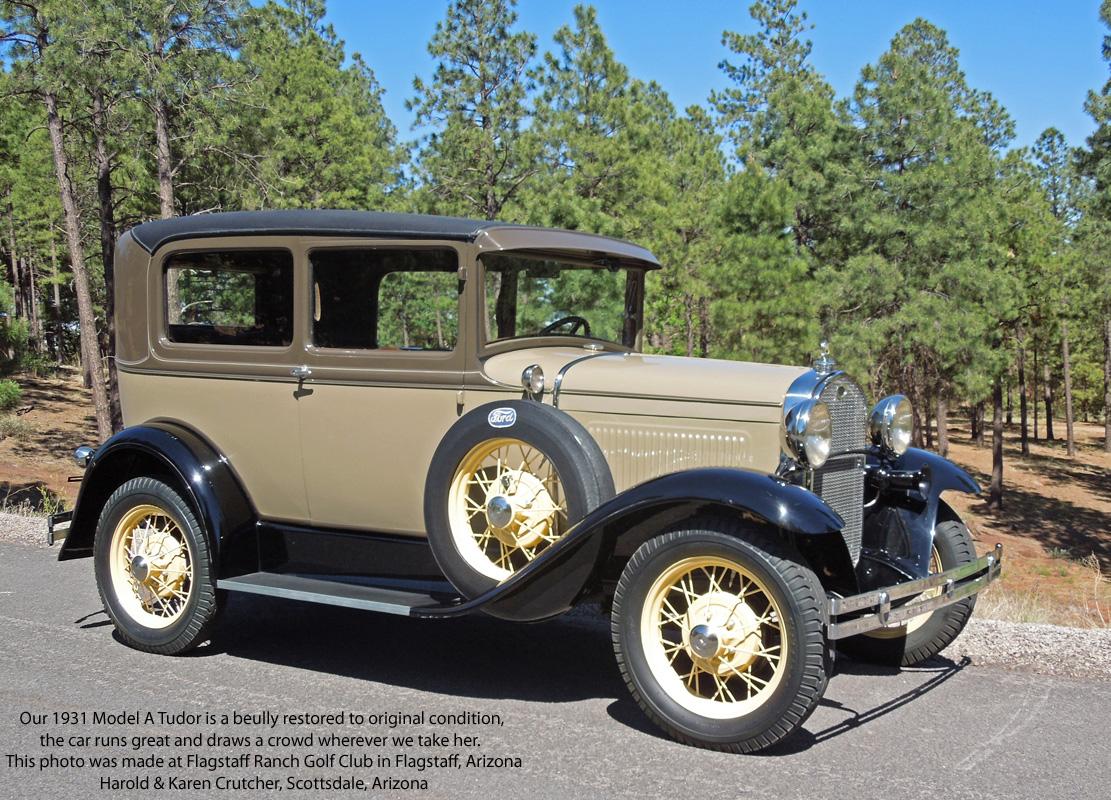 1931 tudor sedan