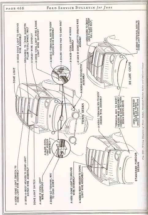 Dome_Light_Wiring mafca tudor sedans 1931 ford model a wiring diagram at bayanpartner.co