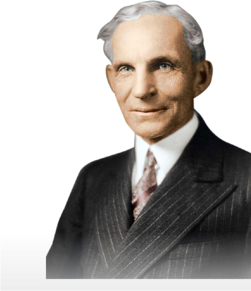 a biography of henry ford and an overview of his achievements in the automobile industry Described by his mother as a born mechanic, the greatest moment in ford's   ford had joined up with a group of investors to form the detroit automobile  company  his achievements are of course inspiring, but what is the message  ford.