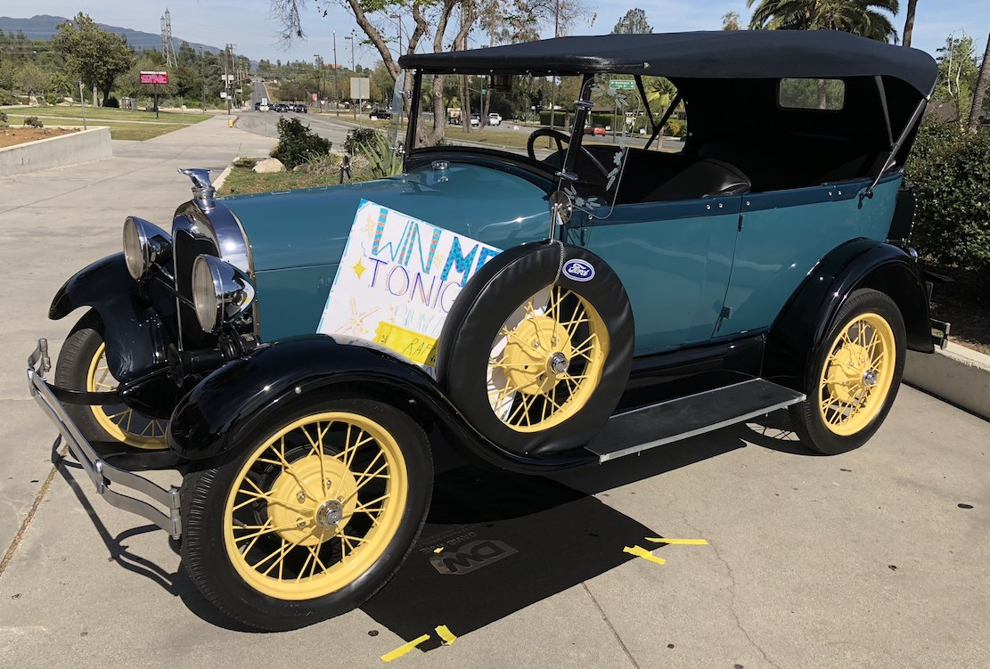 As One Of The First High School Model A Car Clubs Anywhere In Nation Pasadena Students Grades 9