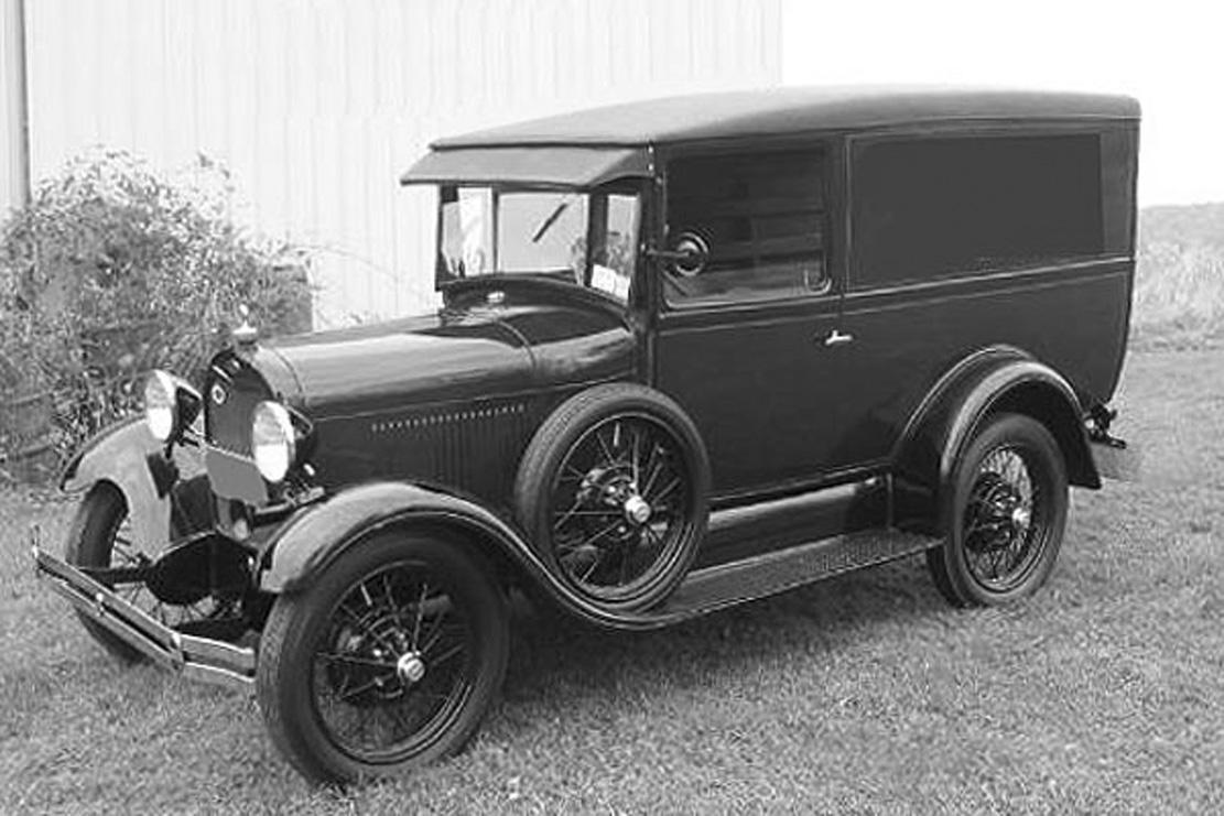 ford model a body styles