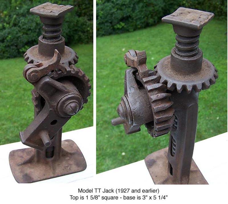 Mafca Tools Model T Jacks